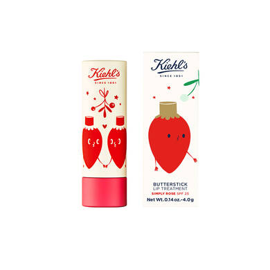 Édition Limitée Noël Butterstick Simply Rose Lip Treatment SPF-25