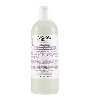 Lavender Foaming-Relaxing Bath with Salts and Aloe Vera