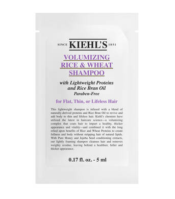 Échantillon Rice and Wheat Volumizing Shampoo