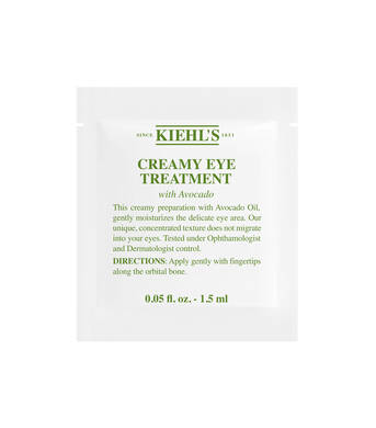 Échantillon Creamy Eye Treatment With Avocado