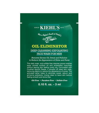 Échantillon Oil Eliminator Deep Cleansing Exfoliating Face Wash pour Hommes