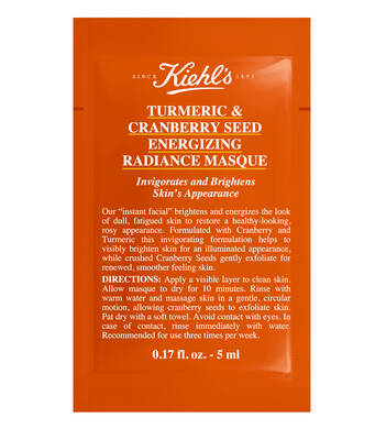 Échantillon Turmeric & Cranberry Seed Energizing Radiance Masque