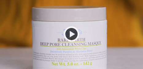Comment appliquer Rare Earth Pore Cleansing Masque