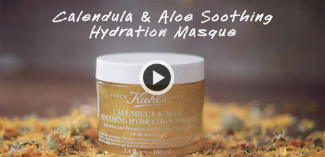 Comment appliquer Calendula & Aloe Soothing Hydration Masque