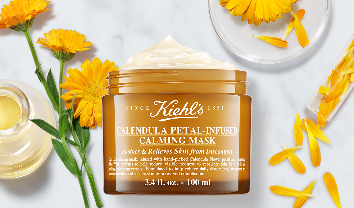 Ingrédients Calendula Petal-Infused Calming Mask