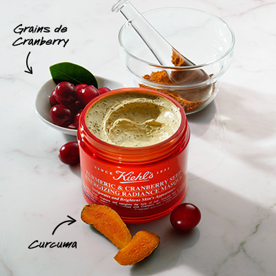 Ingrédients Turmeric & Cranberry Seed Energizing Radiance Masque