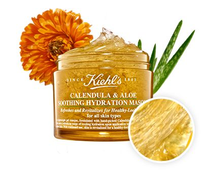 Ingrédients Calendula & Aloe Soothing Hydration Masque