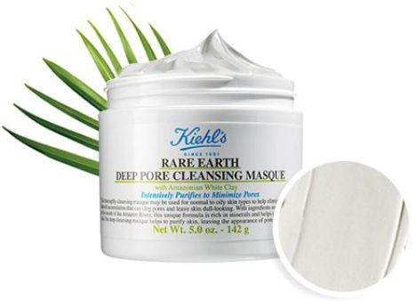 Ingrédients Rare Earth Pore Cleansing Masque